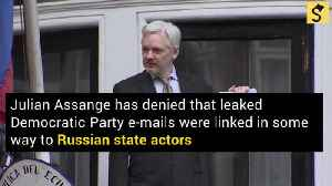 Julian Assange Maintains Russia Was Not the Source for WikiLeaks' DNC E-Mails [Video]