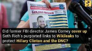 Did James Comey Cover Up a Murdered DNC Staffer's Purported Links to WikiLeaks? [Video]