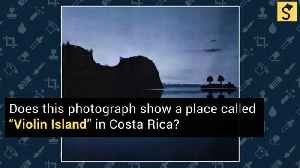 Violin Island' in Costa Rica? [Video]