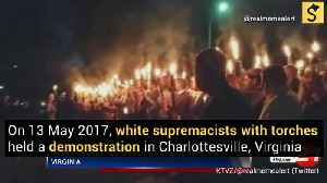 Torch-Bearing White Supremacists Rally in Charlottesville, Virginia [Video]