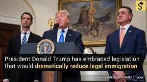 GOP Plan to Slash Legal Immigration Wins Trump's Support [Video]