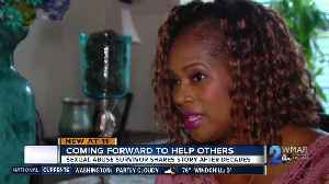 Sexual abuse survivor shares story, hopes to help others break silence [Video]