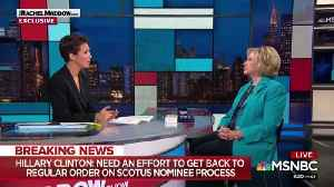 Hillary Clinton suddenly becomes a fan of due process [Video]