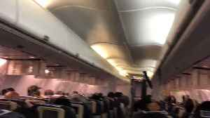 'Panic' on Jet Airways Flight After Loss of Cabin Pressure [Video]