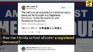 Was the Florida School Shooter a Registered Democrat? [Video]