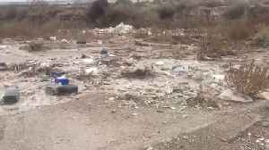 Ecologists horrified by videos showing rivers of plastic flowing in Spain [Video]