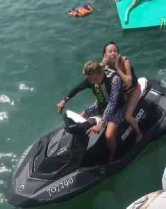 Woman Flies off Back of Jet Ski While Posing for Photos [Video]