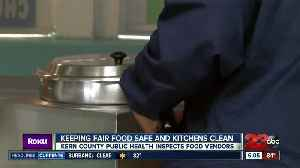 Keeping fair food safe and kitchens clean [Video]