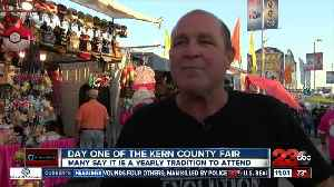 Day one of the Kern County Fair [Video]