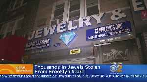 Brooklyn Jewelry Store Robbed [Video]