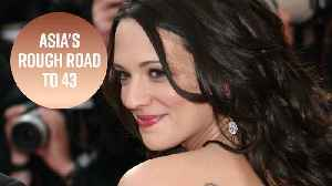 Asia Argento's 43rd birthday is not a happy one [Video]