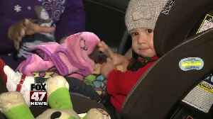 Sparrow installs car seat for local family, highlights Child Passenger Safety Week [Video]