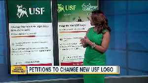 Students start petitions to change new USF logo [Video]