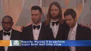 Maroon 5 Potentially Tapped For Super Bowl Halftime [Video]