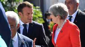 Macron Calls May's Chequers Plan 'Unacceptable' [Video]