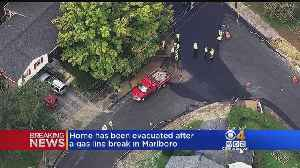 Several Marlboro Homes Evacuated After Paving Crew Breaks Gas Line [Video]