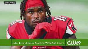 Add WR Julio Jones To Falcons' Long List Of Injured Players [Video]