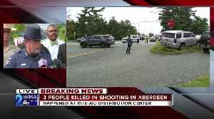 Harford County officials hold first briefing on Aberdeen shooting