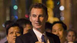 Jeremy Hunt says Myanmar should face the International Criminal Court [Video]
