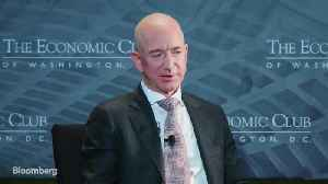 Amazon's Bezos Doesn't Have Meetings Before 10 [Video]