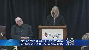 New York Cardinal Calls For Review Following Catholic Church Sex Abuse Allegations [Video]