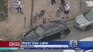 Police: Officer Hospitalized After Being Struck By Vehicle While Making Arrest In West Oak Lane [Video]