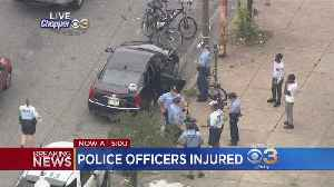 Police: Three Officers Injured After Being Struck By Vehicle While Making Arrest In West Oak Lane [Video]