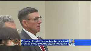 Cohasset Teacher Pleads Not Guilty To Assaulting Student In Classroom [Video]