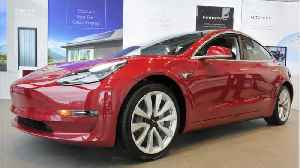 Tesla Model 3 Gets 5-Star Rating From U.S. Safety Agency [Video]