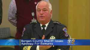 Bergen County Sheriff Apologies For Alleged Remarks [Video]