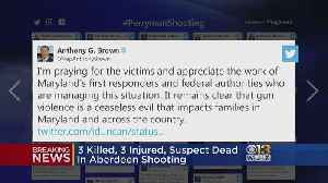 Social Media Reacts To Aberdeen Shooting [Video]
