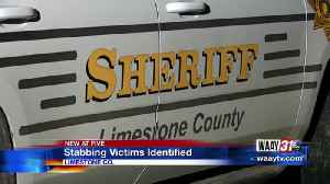 Limestone Co stabbing victims identified [Video]