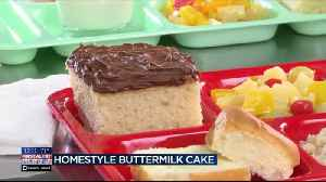 Mr. Food: Homestyle Buttermilk Cake [Video]