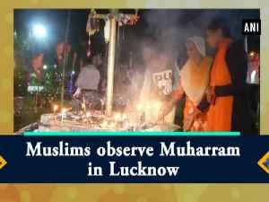 Muslims observe Muharram in Lucknow [Video]
