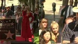 Carrie Underwood gets emotional at Walk of Fame ceremony [Video]