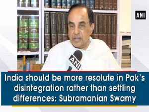 India should be more resolute in Pak's disintegration rather than settling differences: Subramanian Swamy [Video]