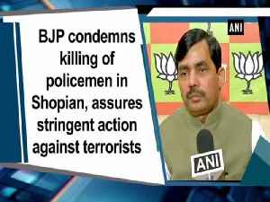 BJP condemns killing of policemen in Shopian, assures stringent action against terrorists [Video]