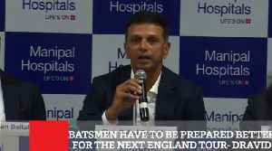 Batsmen Have To Be Prepared Better For The Next England Tour  Dravid [Video]