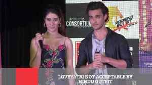 Loveyatri Not Acceptable By Hindu Outfit [Video]