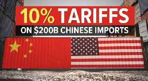 China refuses to back down in escalating U.S. trade war [Video]