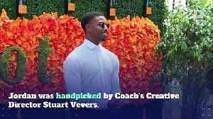 Michael B. Jordan Is the New Face of Coach Menswear [Video]