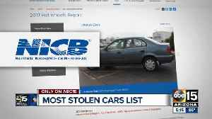 These are the top 10 vehicles stolen in Arizona [Video]