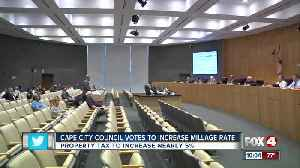 Cape City Council votes to maintain millage rate [Video]