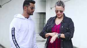 Neha Dhupia & Angad Bedi spotted at No Filter Neha show; Watch Video | FilmiBeat [Video]