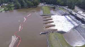 Drone footage shows large-scale flooding in Fayetteville, North Carolina Captures Flooding in North Carolina [Video]