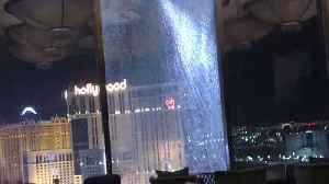 Glass Shatters and Falls From 23rd Floor of Waldorf Astoria in Las Vegas [Video]