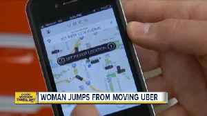 Woman jumps from moving Uber after being kidnapped [Video]