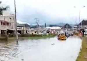 Roadside in Lokoja Covered With Floodwater [Video]