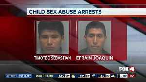 Two arrested for sexual battery on 9-year-old in Bonita Springs [Video]