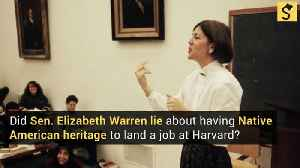 Did Elizabeth Warren Lie About Her Native American Heritage to Land a Job at Harvard? [Video]